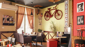 Revolt Cafe Royalty Free Stock Image