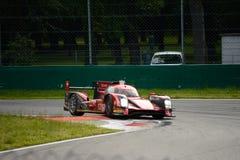 Revolt som springer det R-One AERs LMP1 provet på Monza Fotografering för Bildbyråer