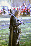 A revolta a dos camponeses d 1573 , reenactment da batalha final, 2, Donja Stubica, Croácia, 2016 fotos de stock