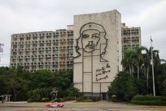 Revolução Cuba quadrada Fotografia de Stock Royalty Free