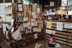 Revolução 2014 do guarda-chuva de Hong Kong Foto de Stock