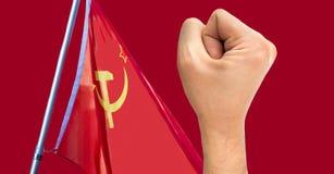 Revolução e comunismo Imagens de Stock Royalty Free