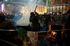 Revolução em Ucrânia Fotos de Stock