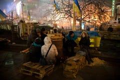 Revolução em Ucrânia Imagens de Stock