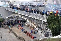 Revolución Advantages_66 de Kyiv Maidan fotografía de archivo libre de regalías