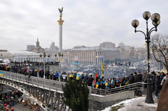 Revolución Advantages_67 de Kyiv Maidan fotos de archivo libres de regalías