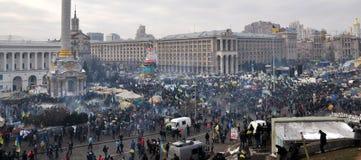 Revolución Advantages_73 de Kyiv Maidan imágenes de archivo libres de regalías