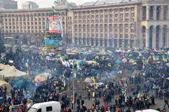 Revolución Advantages_74 de Kyiv Maidan foto de archivo libre de regalías