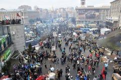 Revolución Advantages_75 de Kyiv Maidan imagen de archivo libre de regalías