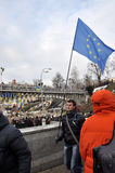 Revolución Advantages_80 de Kyiv Maidan fotografía de archivo
