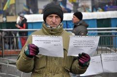 Revolución Advantages_81 de Kyiv Maidan imagen de archivo
