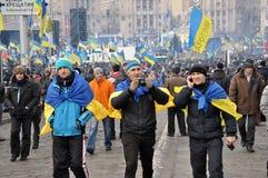 Revolución Advantages_82 de Kyiv Maidan imagenes de archivo