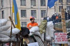 Revolución Advantages_86 de Kyiv Maidan foto de archivo libre de regalías