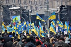 Revolución Advantages_88 de Kyiv Maidan imagen de archivo