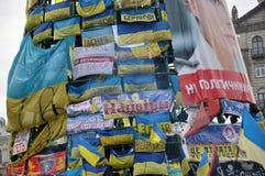 Revolución Advantages_90 de Kyiv Maidan imágenes de archivo libres de regalías