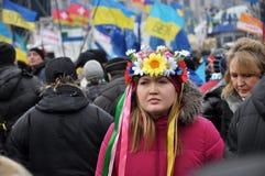 Revolución Advantages_92 de Kyiv Maidan fotografía de archivo libre de regalías