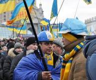 Revolución Advantages_97 de Kyiv Maidan fotos de archivo libres de regalías