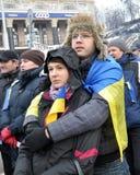 Revolución Advantages_93 de Kyiv Maidan imágenes de archivo libres de regalías