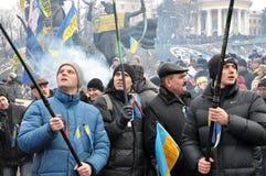Revolución Advantages_98 de Kyiv Maidan imagenes de archivo