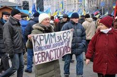Revolución Advantages_99 de Kyiv Maidan imagenes de archivo