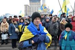 Revolución Advantages_100 de Kyiv Maidan fotos de archivo
