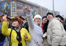 Revolución Advantages_101 de Kyiv Maidan imágenes de archivo libres de regalías
