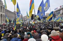 Revolución Advantages_102 de Kyiv Maidan fotos de archivo libres de regalías