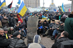 Revolución Advantages_109 de Kyiv Maidan imágenes de archivo libres de regalías