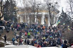 Revolución Advantages_110 de Kyiv Maidan fotografía de archivo libre de regalías