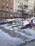 Revolución de Ucrania Foto de archivo