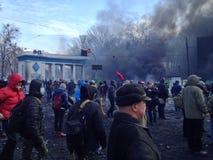 Revolución de Ucrania Foto de archivo libre de regalías