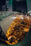 Revolución del paraguas en Hong Kong 2014 Fotografía de archivo