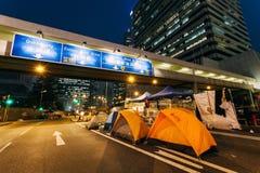 Revolución del paraguas en Hong Kong 2014 Foto de archivo