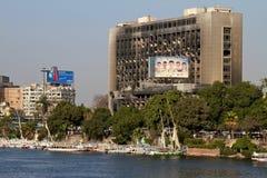 Revolución egipcia - 25 de enero de 2012 Fotos de archivo libres de regalías