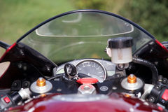 Revolución por minuto de Moto Fotografía de archivo