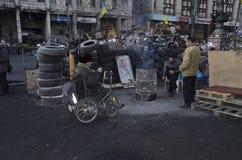 Revolución ucraniana Fotos de archivo libres de regalías