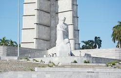 Revolución Jose Marti Monument cuadrado Fotos de archivo libres de regalías