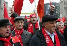 Revolución rusa Foto de archivo libre de regalías