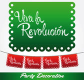 Revolucion Λα Viva - πολύ ζήστε η επανάσταση Στοκ εικόνες με δικαίωμα ελεύθερης χρήσης