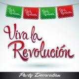 Revolucion della La di Viva - viva la rivoluzione Immagini Stock Libere da Diritti