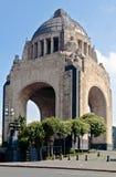 revolucion för stadslamexico monumento Arkivfoton