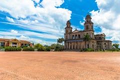 Revolucion kwadrat Managua Nikaragua zdjęcie royalty free