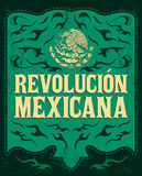 Revolucion Mexicana - mexican revolution spanish Stock Photo