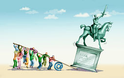 Revoluciones de Internet libre illustration