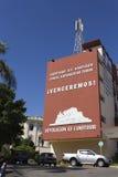 Revolucions-Propaganda geschrieben durch die Regierung Lizenzfreies Stockbild
