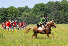 Revoluntary War Reenactors Royalty Free Stock Photos