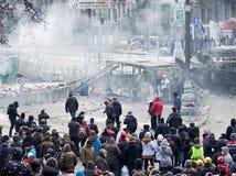 Revolutie de Oekraïne stock fotografie