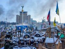 Revolutie in de Oekraïne royalty-vrije stock foto