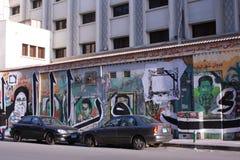 Revolutie Graffiti Royalty-vrije Stock Foto