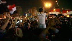 Revolutie 30 van Egypte Juni stock videobeelden
